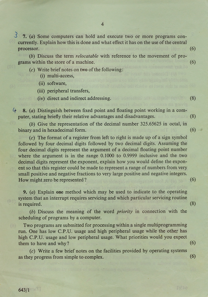 A-level Paper 1 Page 4